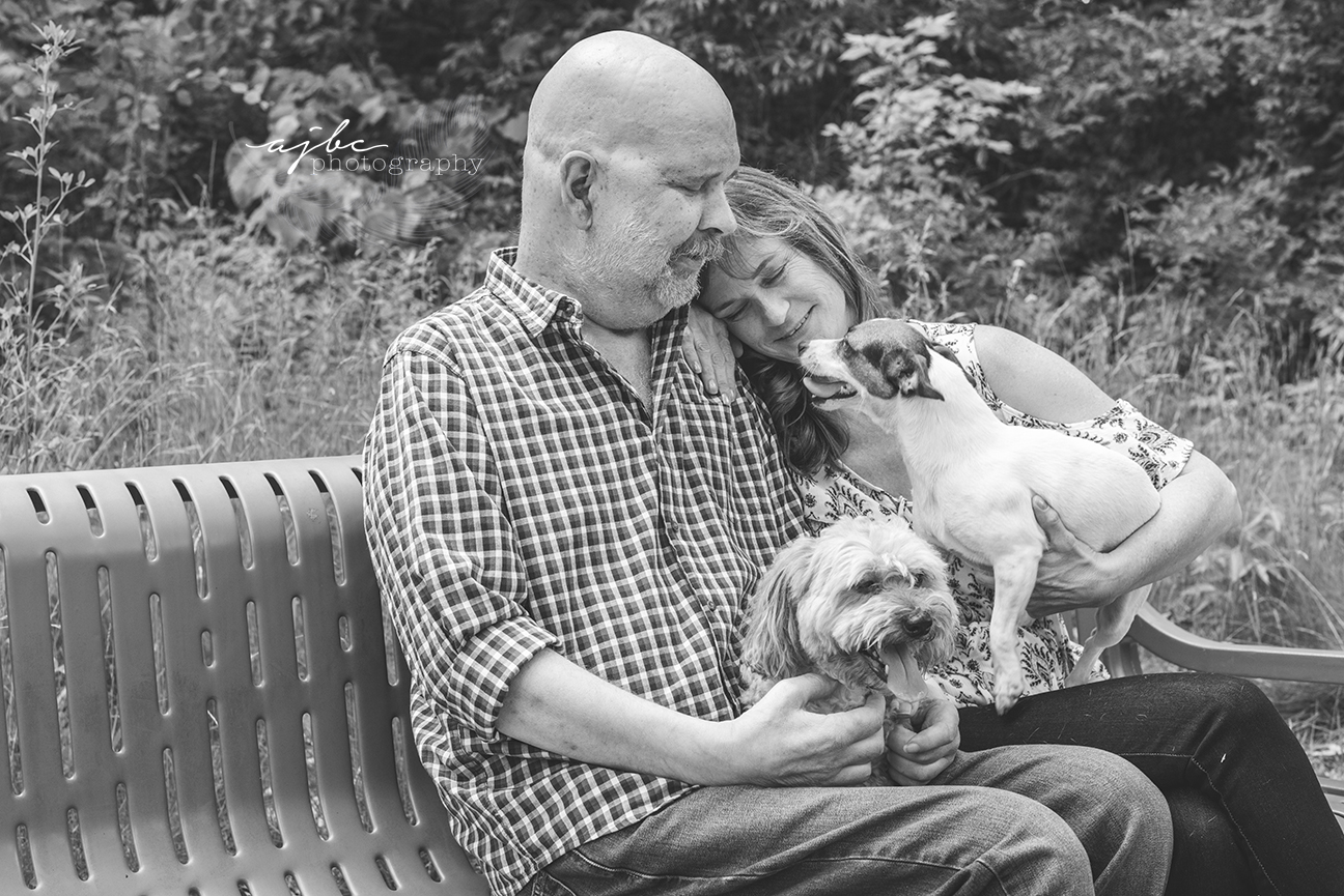 port huron michigan couple session with dogs photographer love cancer story.jpg