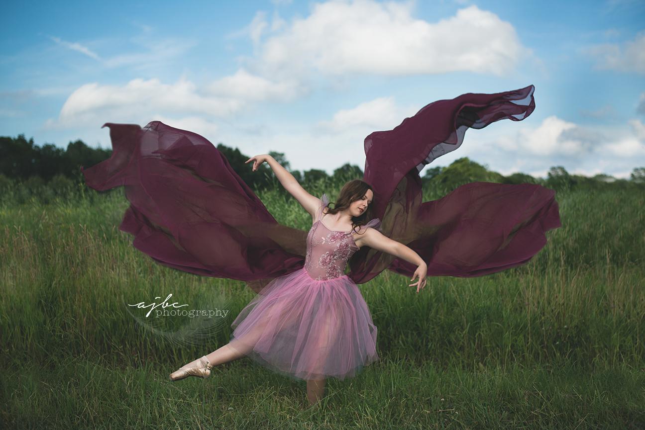 port huron michigan senior photographer outdoor whimsical dance photoshoot.jpg