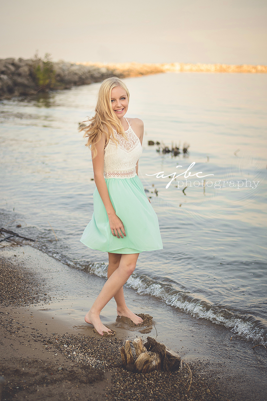boho senior style on the water lake huron lexington michigan photographer.jpg