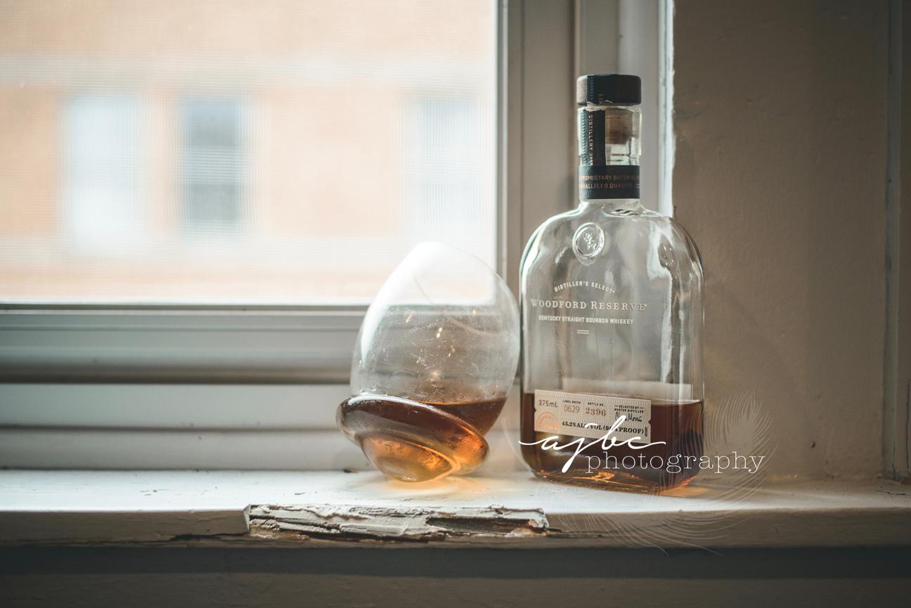 fun Boudoir whiskey photoshoot