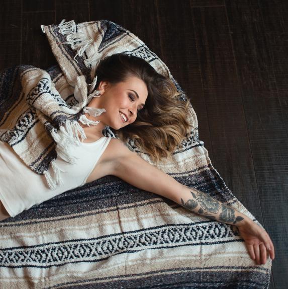 Womens empowerment boudoir photoshoot