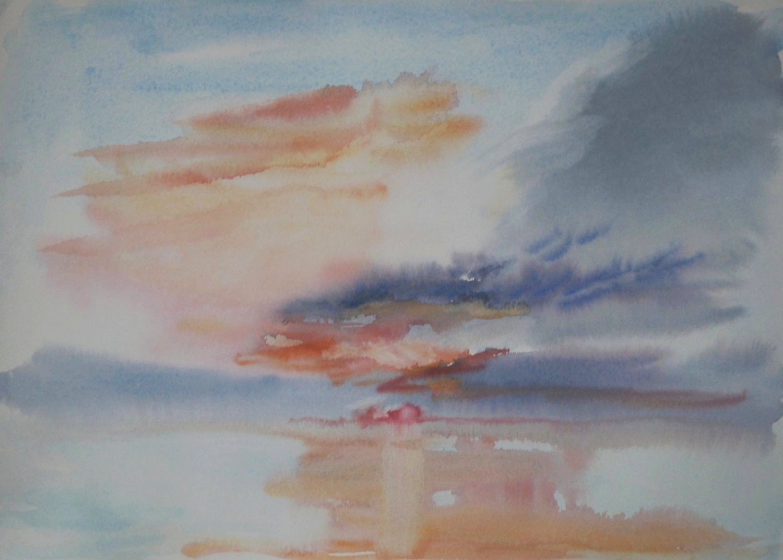 Sunrise Study, Washington Island.jpg