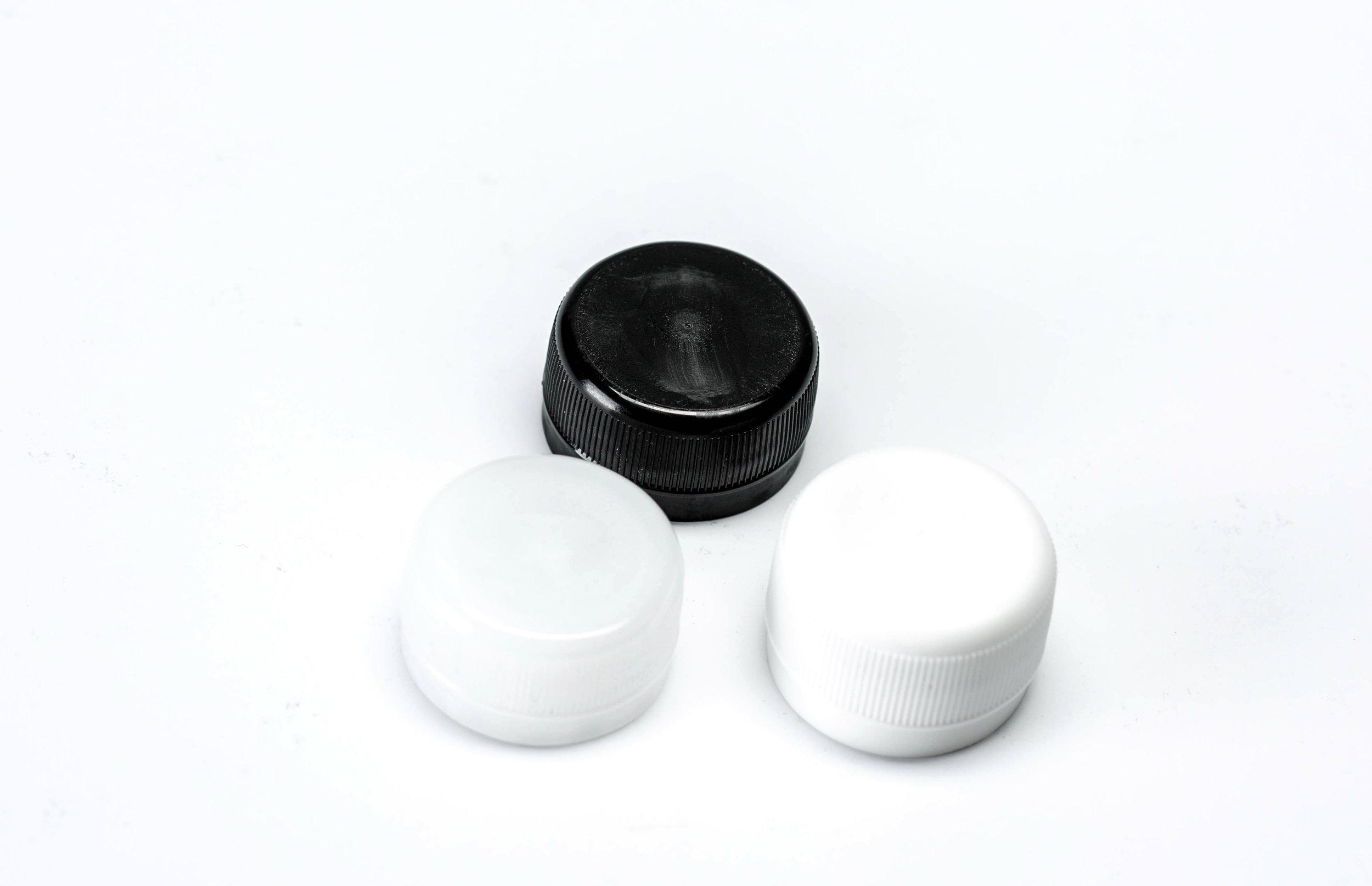 28mm PCO Natural, White, Black