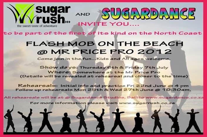 SugarDance Studio Dance Classes Ballito Flash Mob
