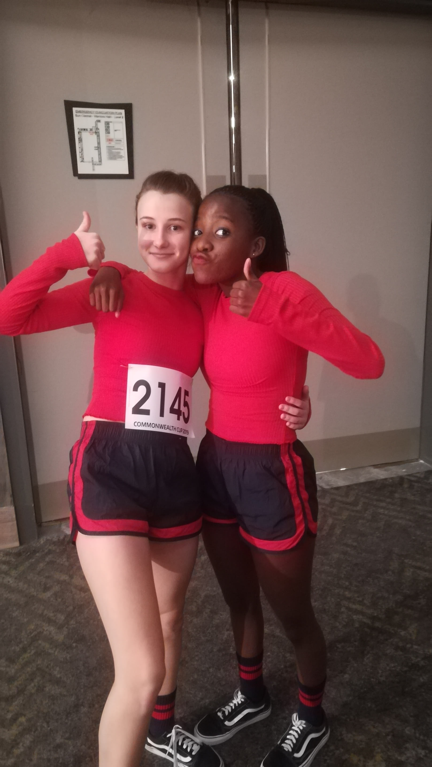 Sam and Babs placing 4th for the Street Dance Show duo.
