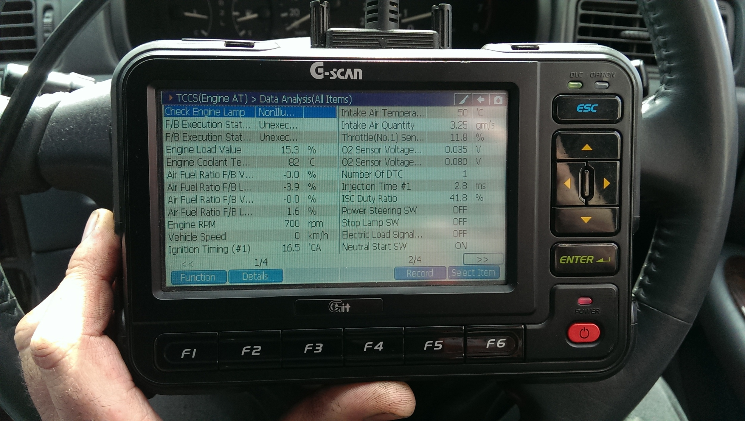 We use the latest diagnostic Equipment.