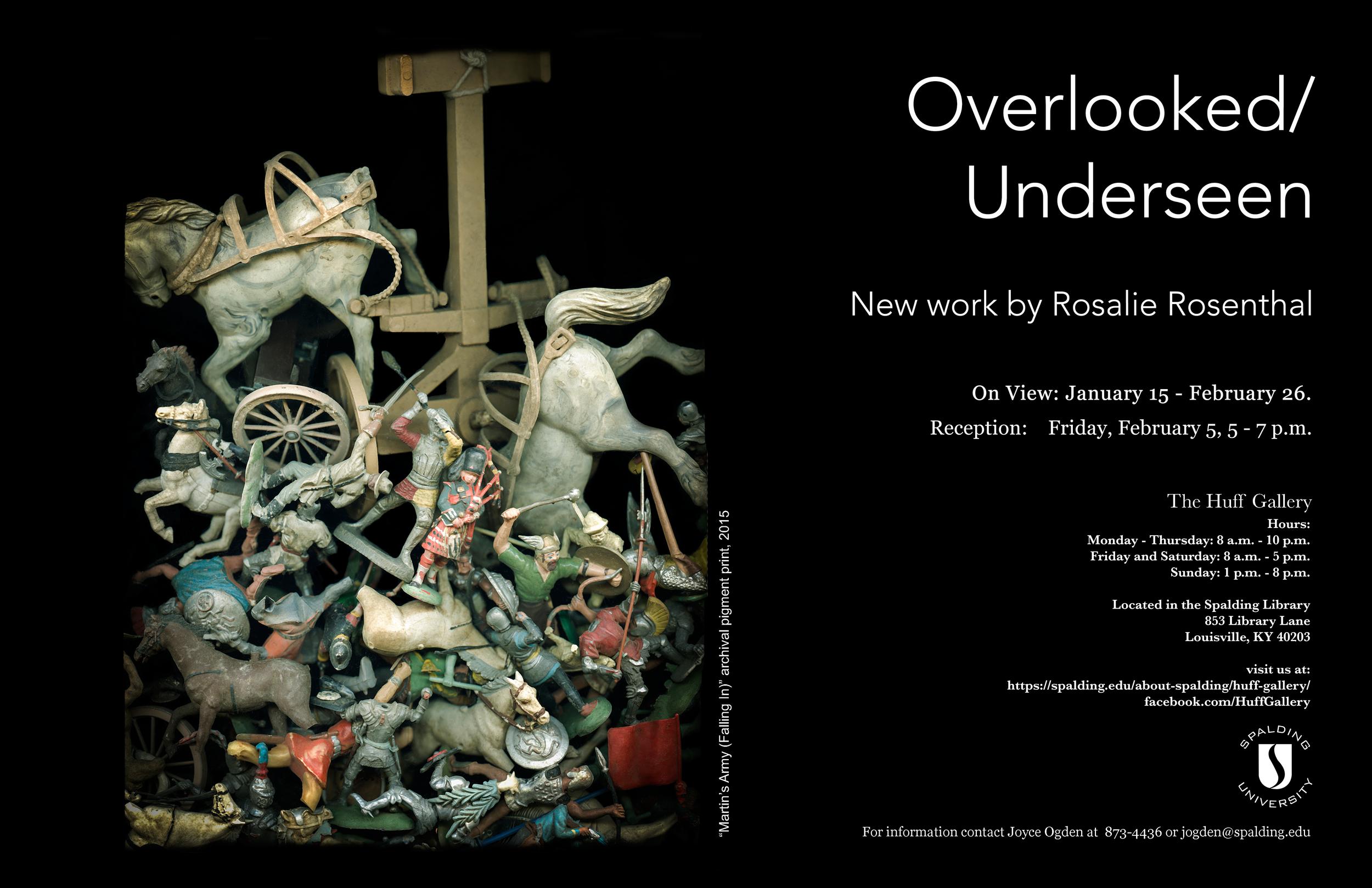 Overlooked/Underseen