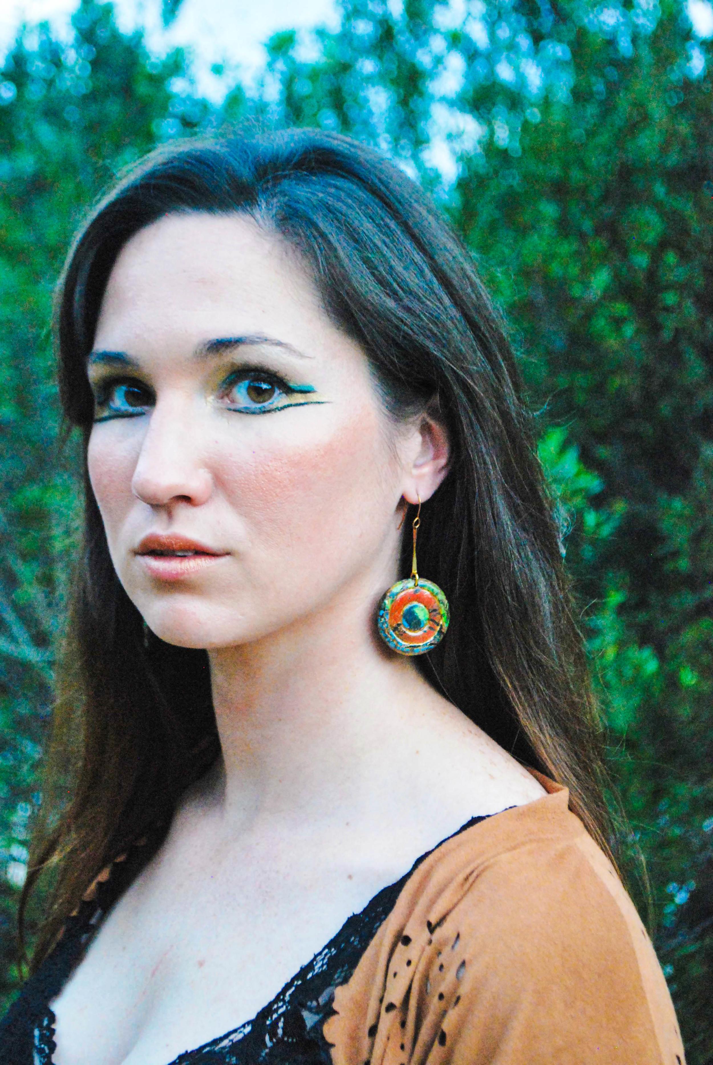 Emily wearing Aztec Medallions1.jpg