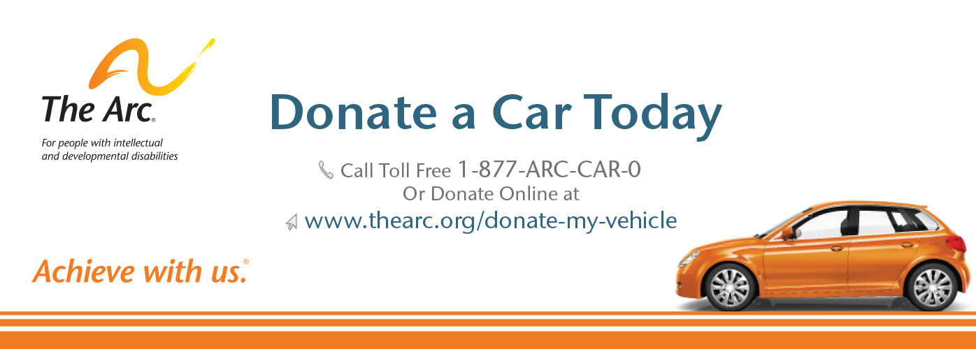 You can donate your car to Lexington! Simply click on the image above and then choose NY The Arc of Lexington!