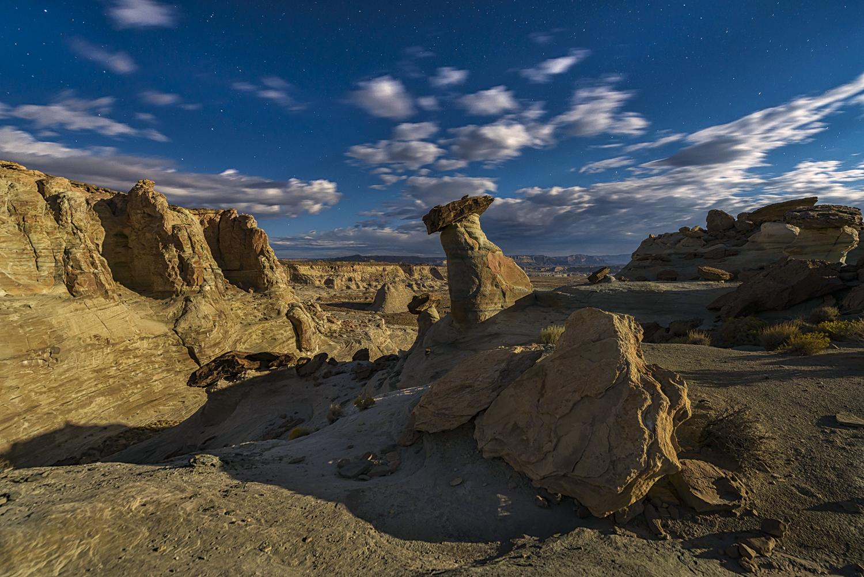 Moonscape, Northern Arizona near Page