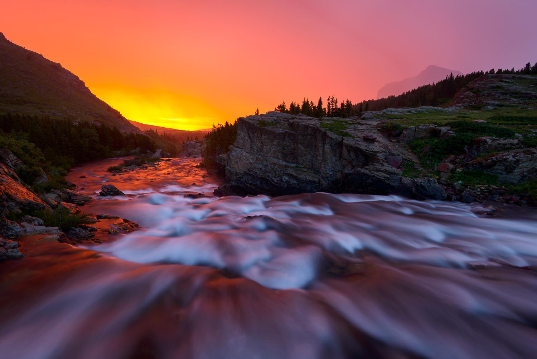 Swiftcurrent Creek, Glacier NP