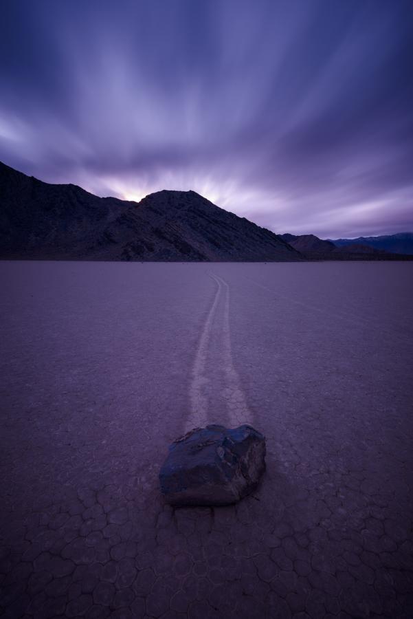 Timescape, Racetrack Playa, Death Valley, CA