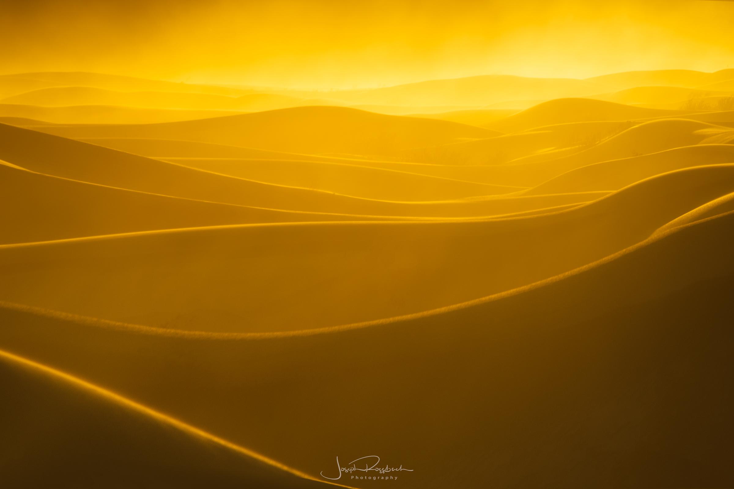 Mesquite Sand Dunes Sunset, Death Valley National Park, California