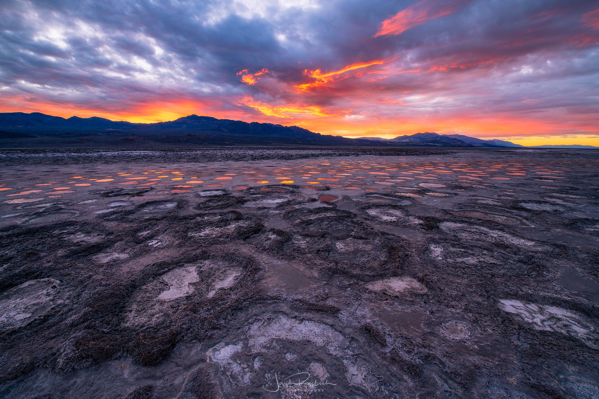 Cottonball Basin Sunrise, Death Valley National Park, California