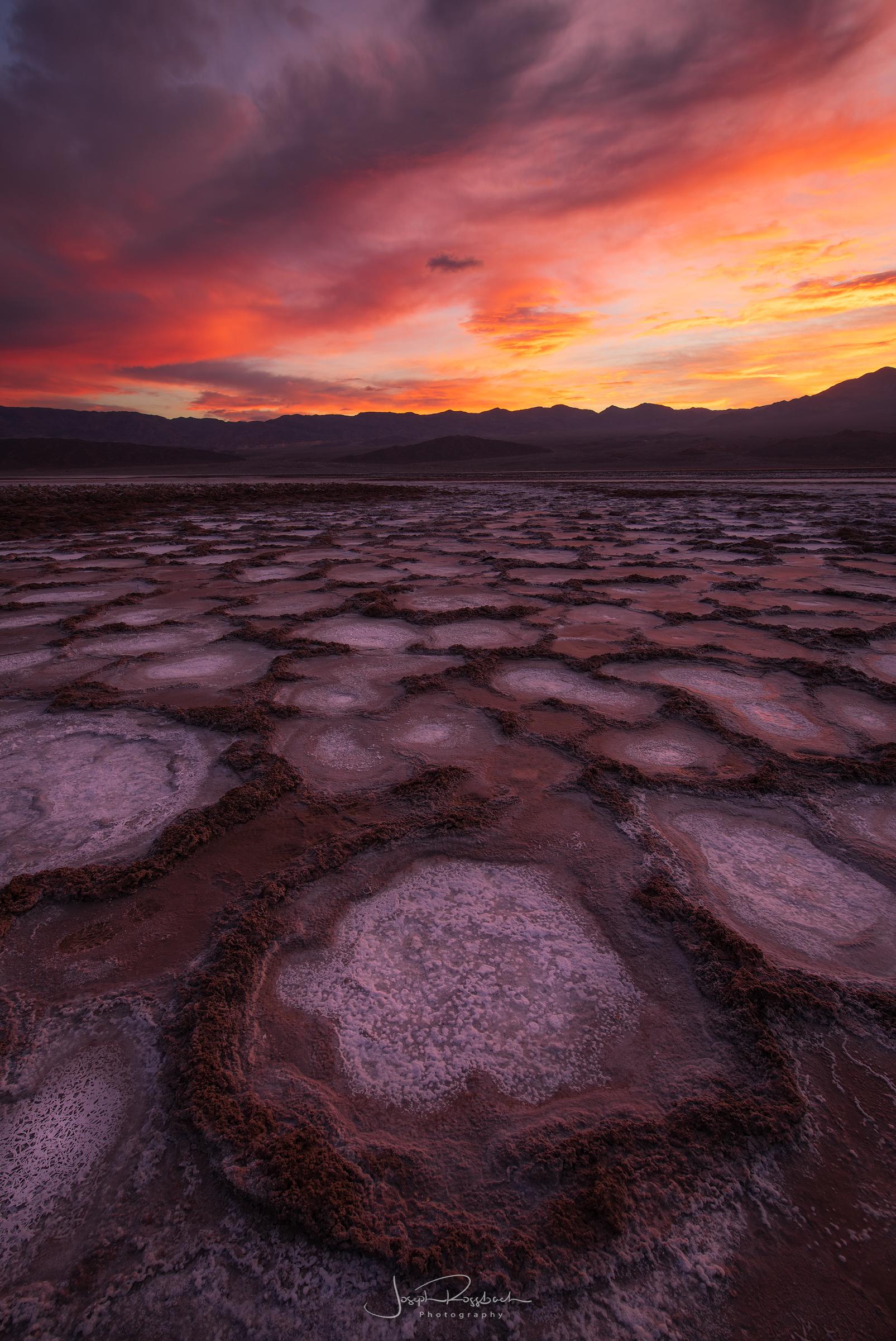 Cottonball Basin Epic Sunrise, Death Valley, California