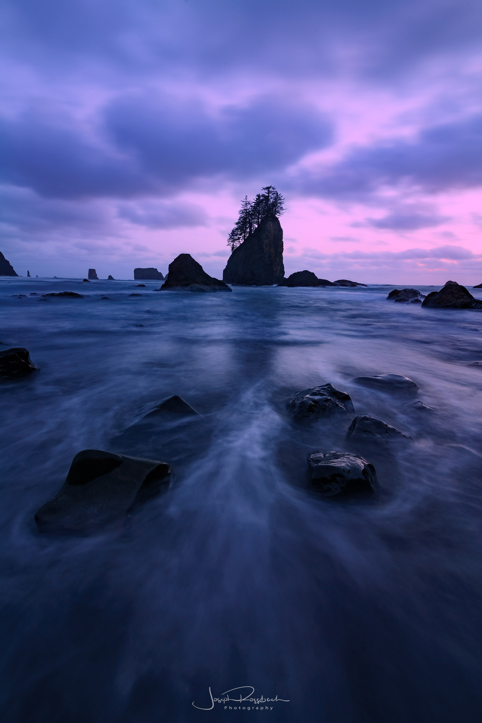 Olympic National Park Second Beach Sunset
