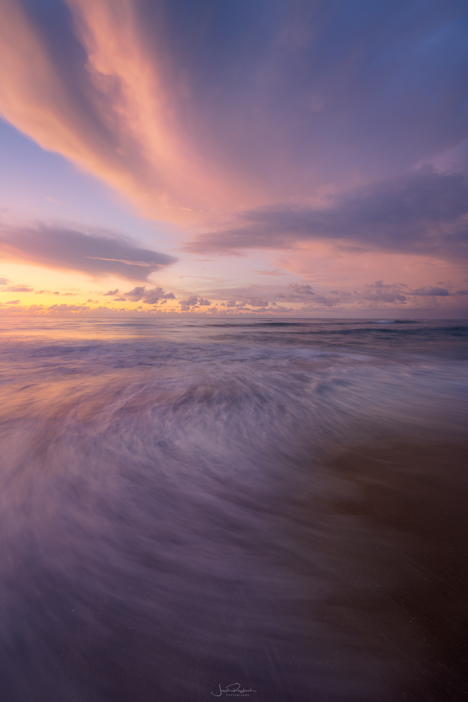 Breaking Waves at dawn, Outer Banks near Buxton, NC