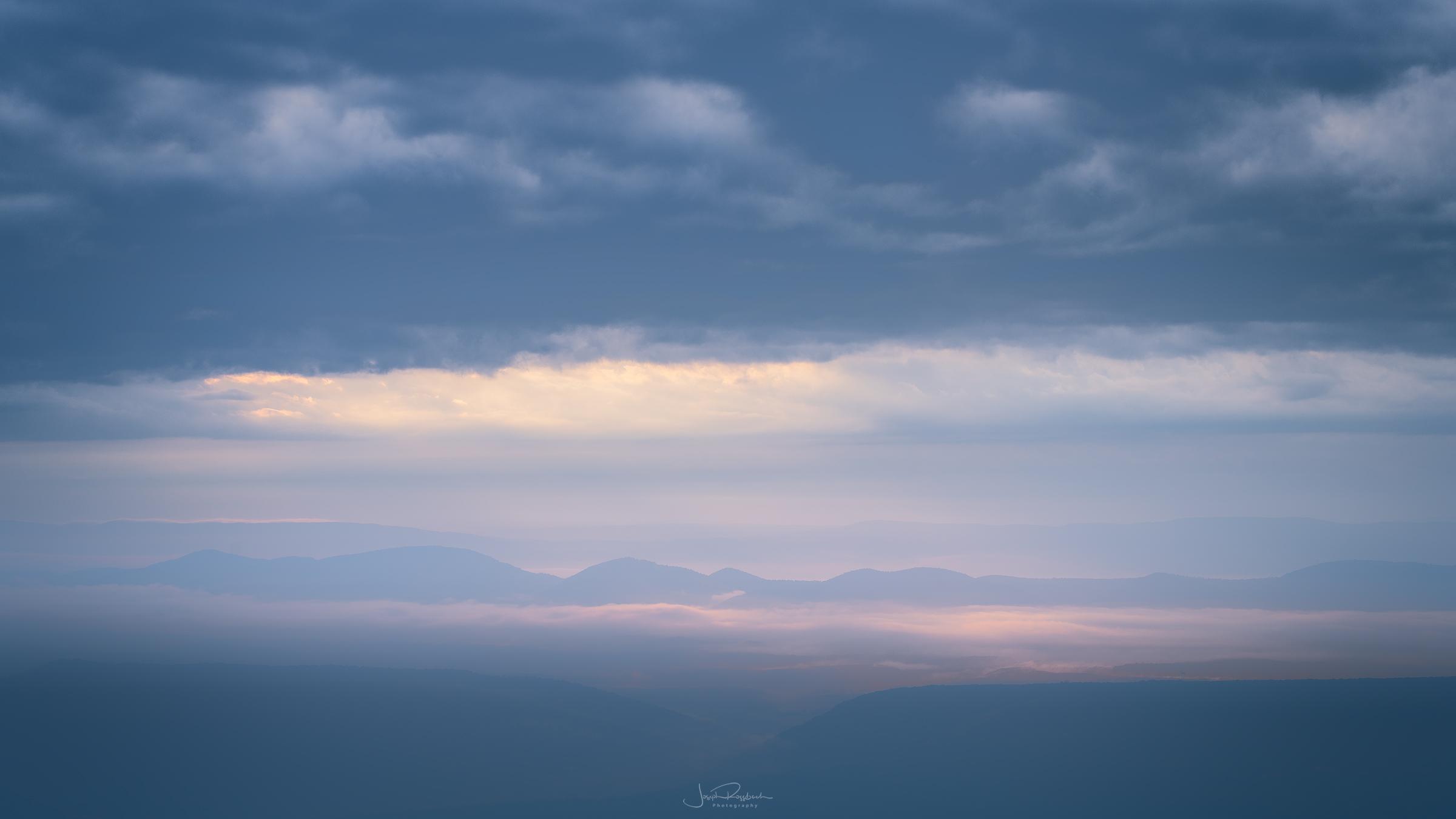 Sunrise from Bear Rocks, Dolly Sods, West Virginia