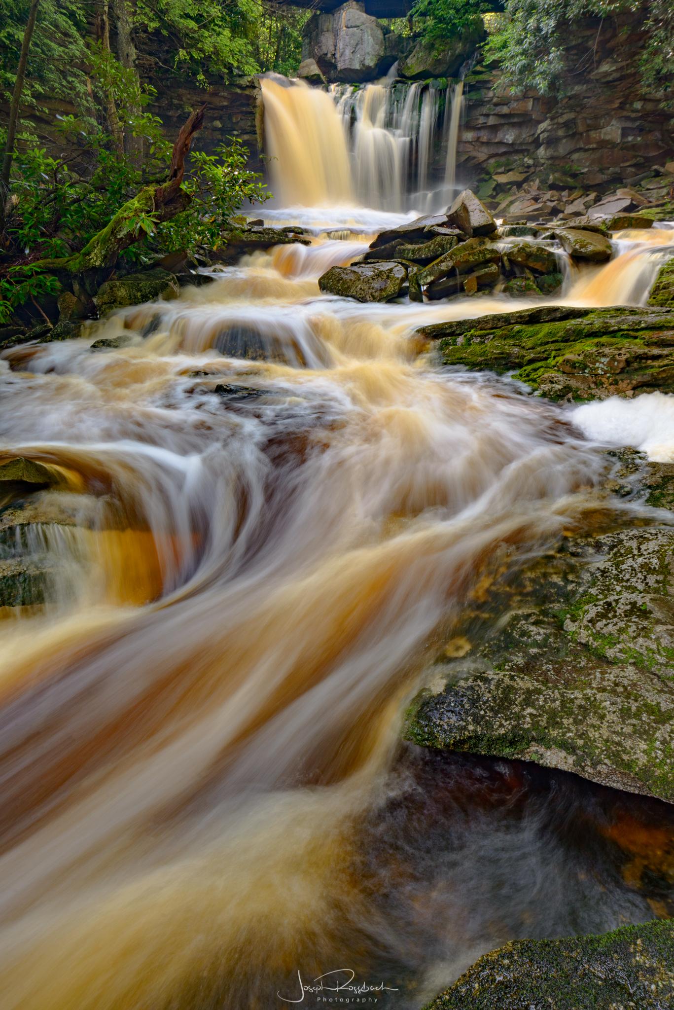 Upper Elakala Falls, Blackwater Falls State Park, West Virginia