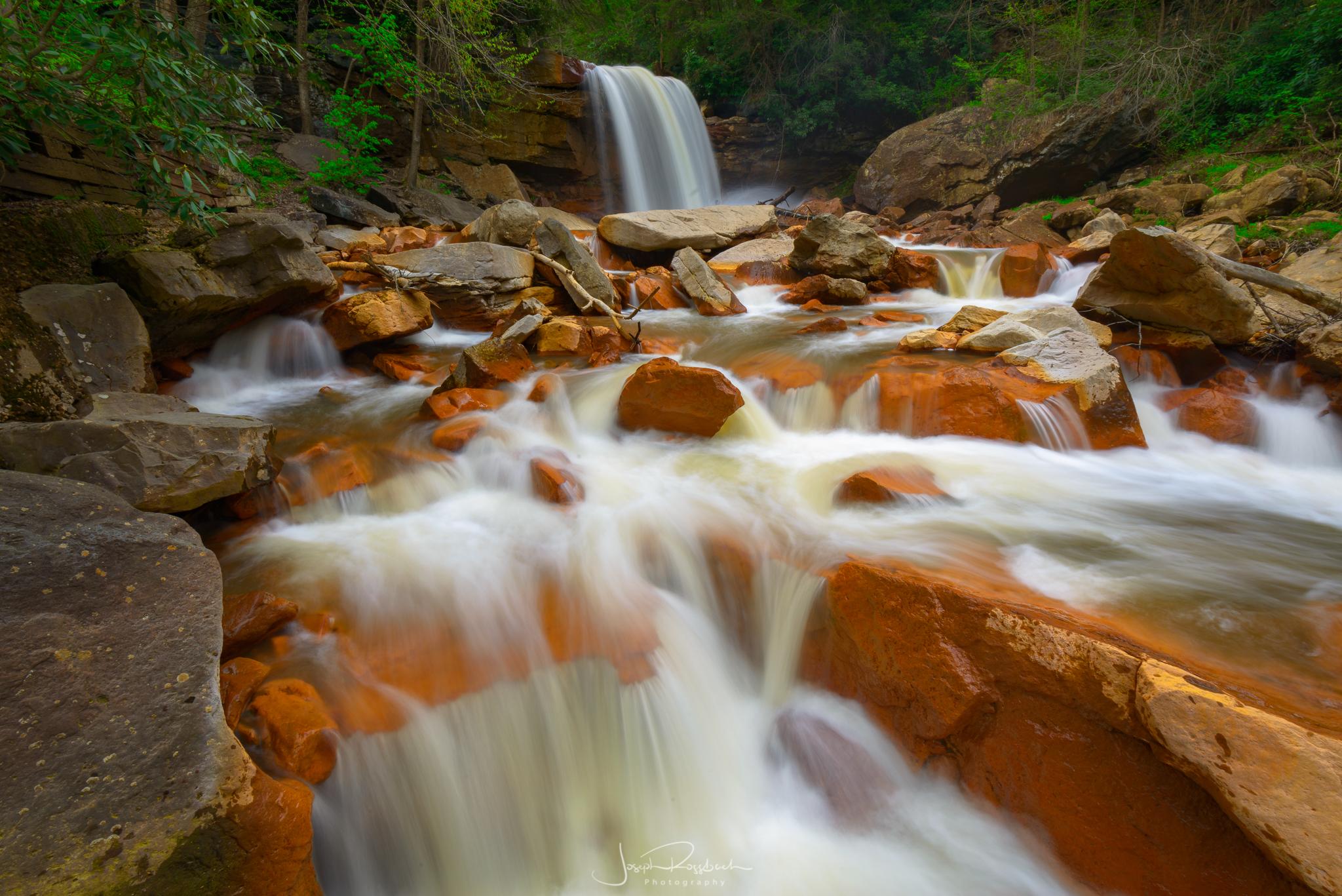 Douglas Falls, Monongahela National Forest, West Virginia