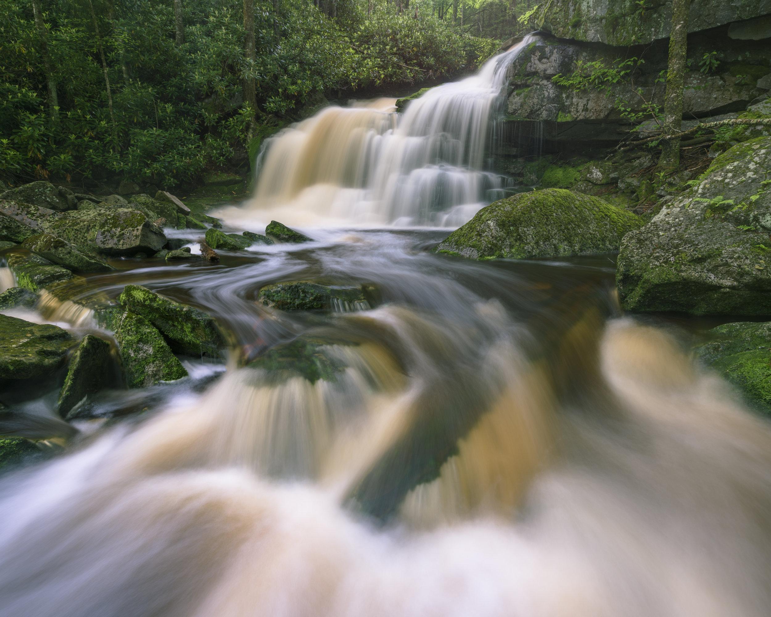 Second Falls of Shays Run, West Virginia