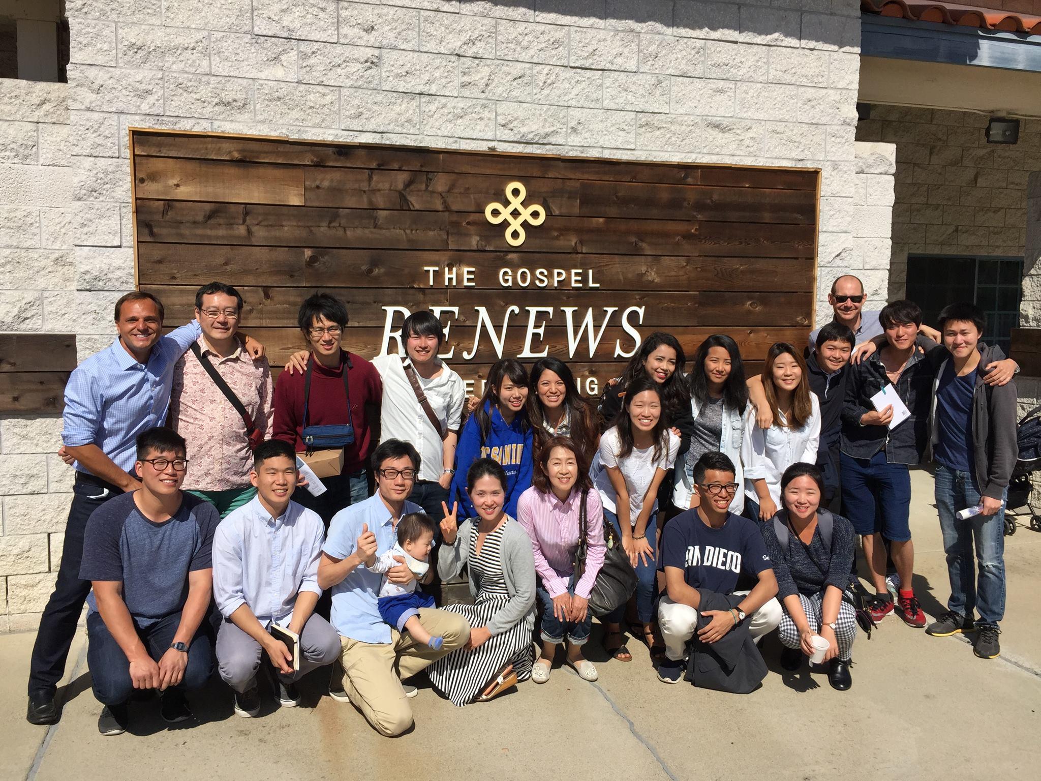 Tokyo University Students visit Redeemer San Diego