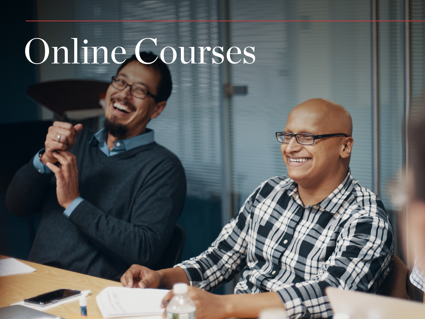 A growing catalog of online courses makes our in-person training available anywhere in the world.