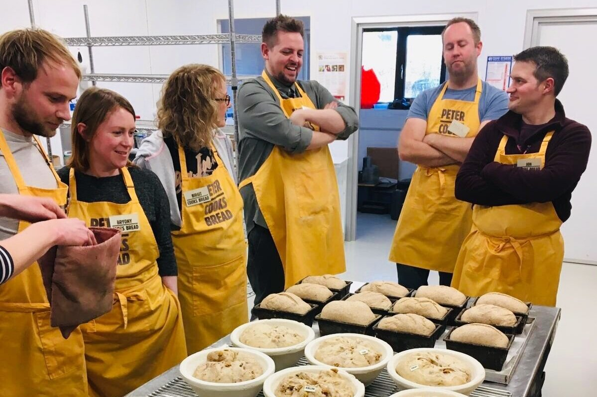 Workshops - And we don't just bake it, we also teach you how to bake your own Real Bread at home on our workshops. Check the latest dates.