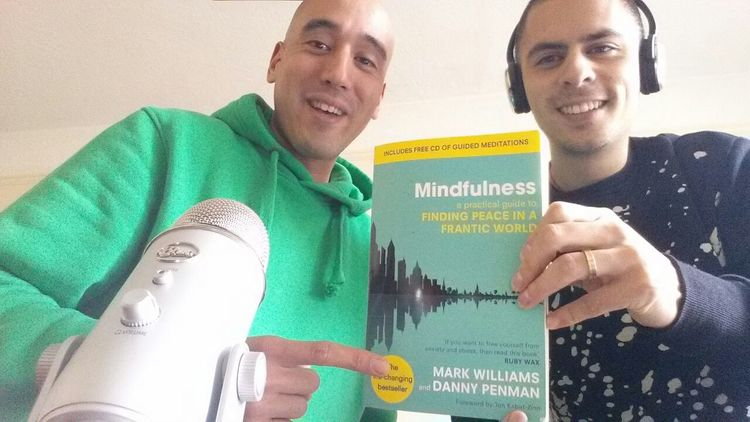 Podcast 26: Fran and I with Danny Penman's best-seller on Mindfulness - Foreword by Jon Kabat-Zinn    Dr Danny Penman writes for the Daily Mail, New Scientist, Independent News paper and for the BBC.  He also tells us about his award winning work for the prevention of cruelty to animals.    Click on image for podcast