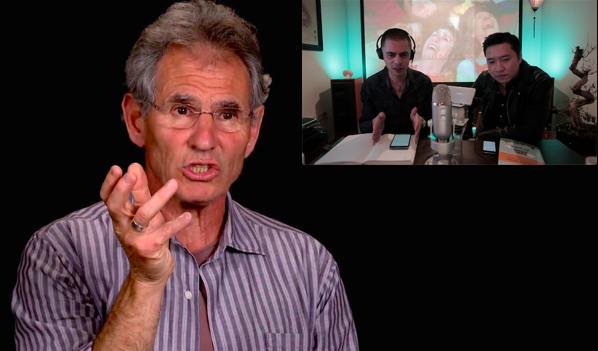 Podcast 51: The amazing Jon Kabat-Zinn    This podcast is the highlight of my short podcasting career. Jon is almost single handedly responsible for introducing Mindfulness to the west and his techniques are being applied in courses, and hospitals all across the globe.  We discuss his latest findings and his plans for 2016 and his views on what the next  5 years looks like.      Click on image for podcast