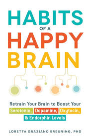 Podcast 49: Habits of a Happy brain - Author, Loretta Breuning Ph.D.    When you have a positive thought, certain chemicals are released in the body.  Similarly, when you have a negative thought, a negative chemical (Cortezol) is released.  We are the best drug manufacturers on earth.  Loretta talks about how we can play a bigger role in our bodies prodcution of these chemicals and how it can lead to a happier life.       Click on image for podcast