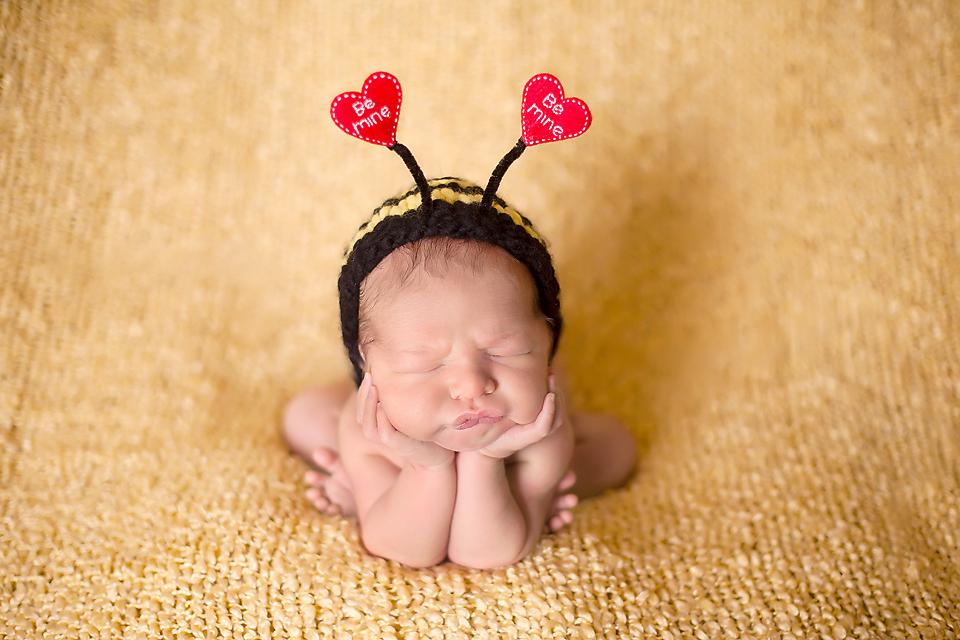 Newborn photo poses