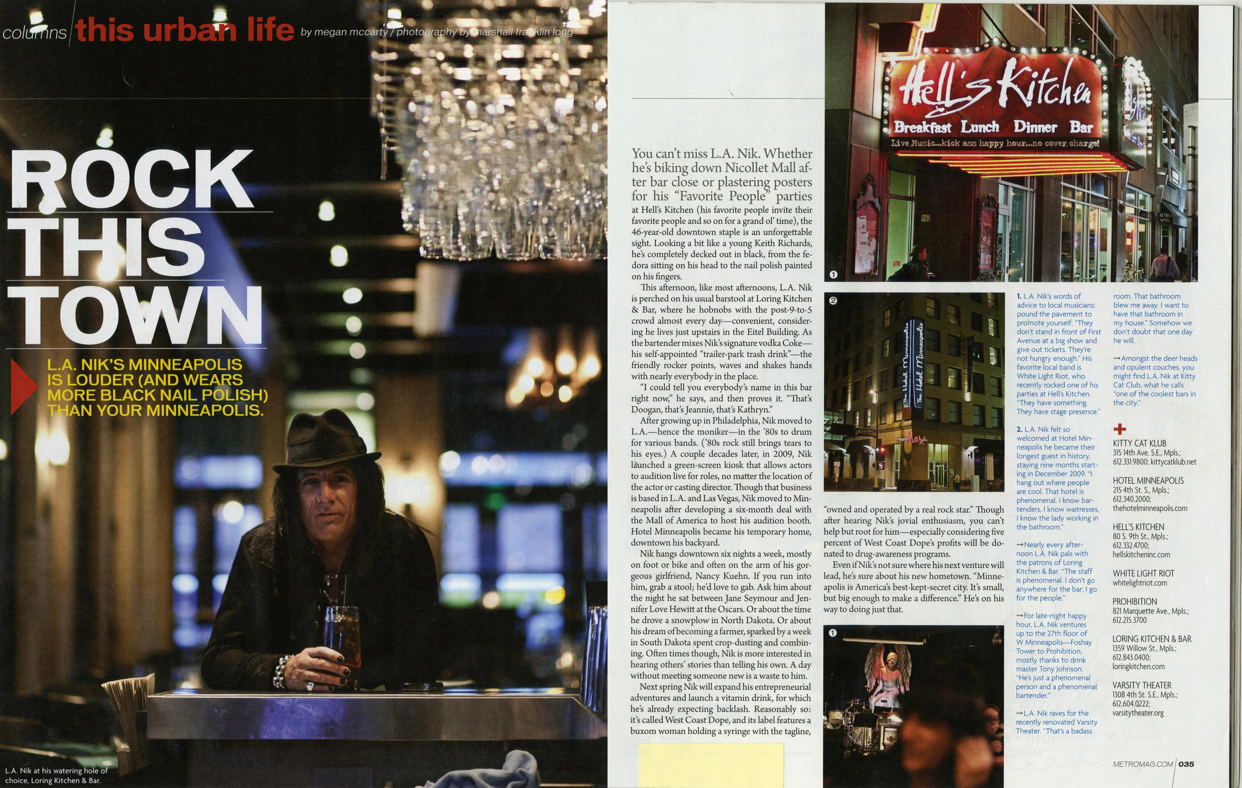 Metro Magazine December 2010