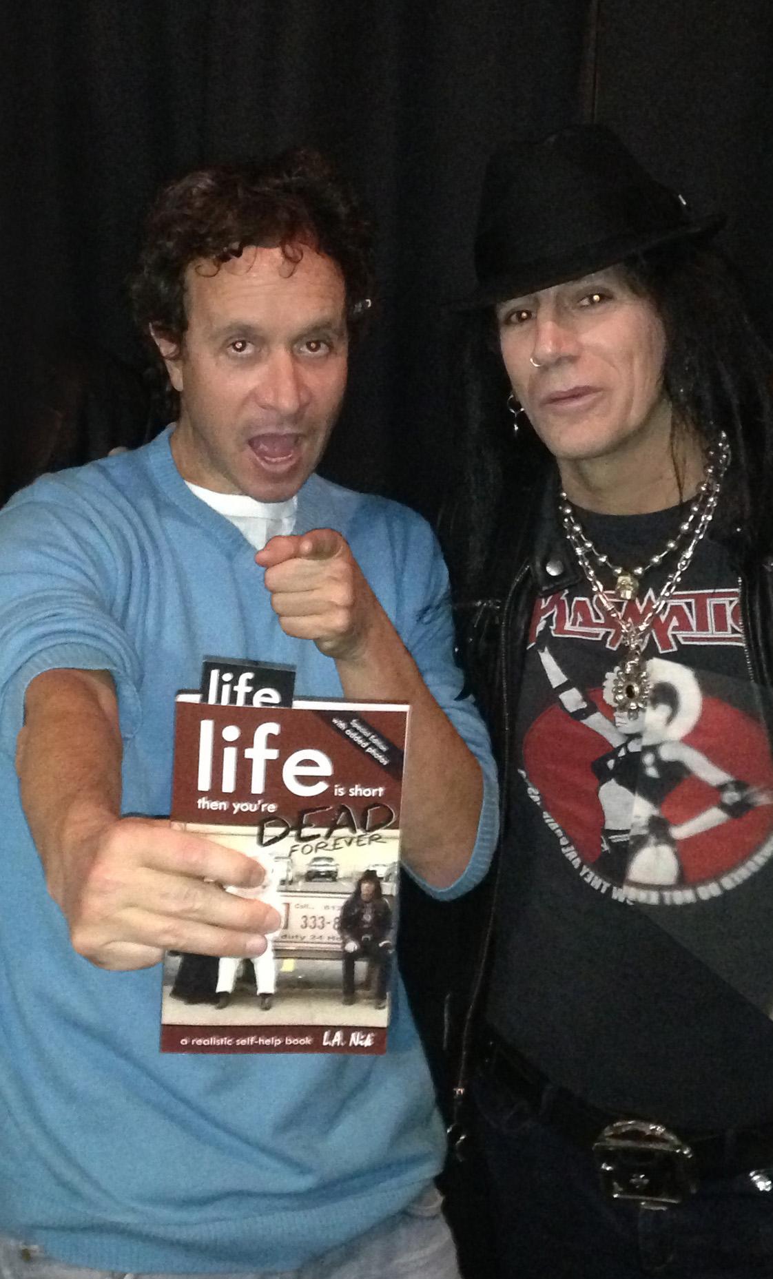 Pauly saying buy L.a. nike book!!