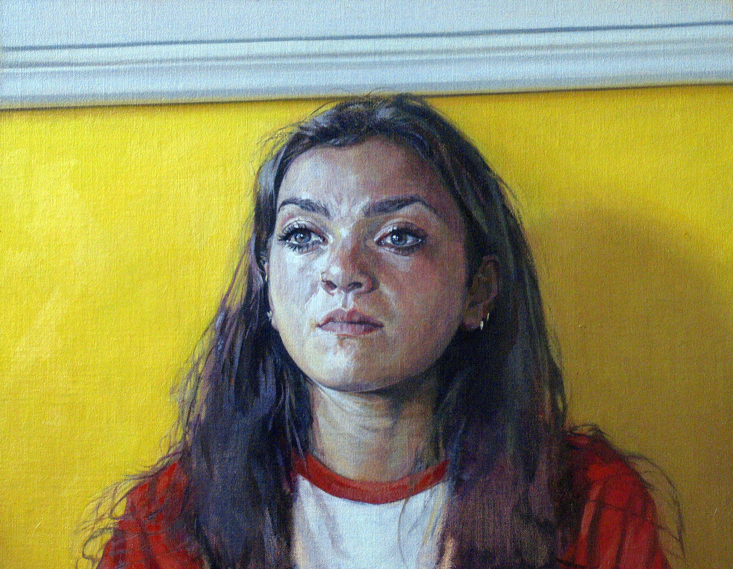 Jasmine, 2014, oil on linen, 14 x 18in.