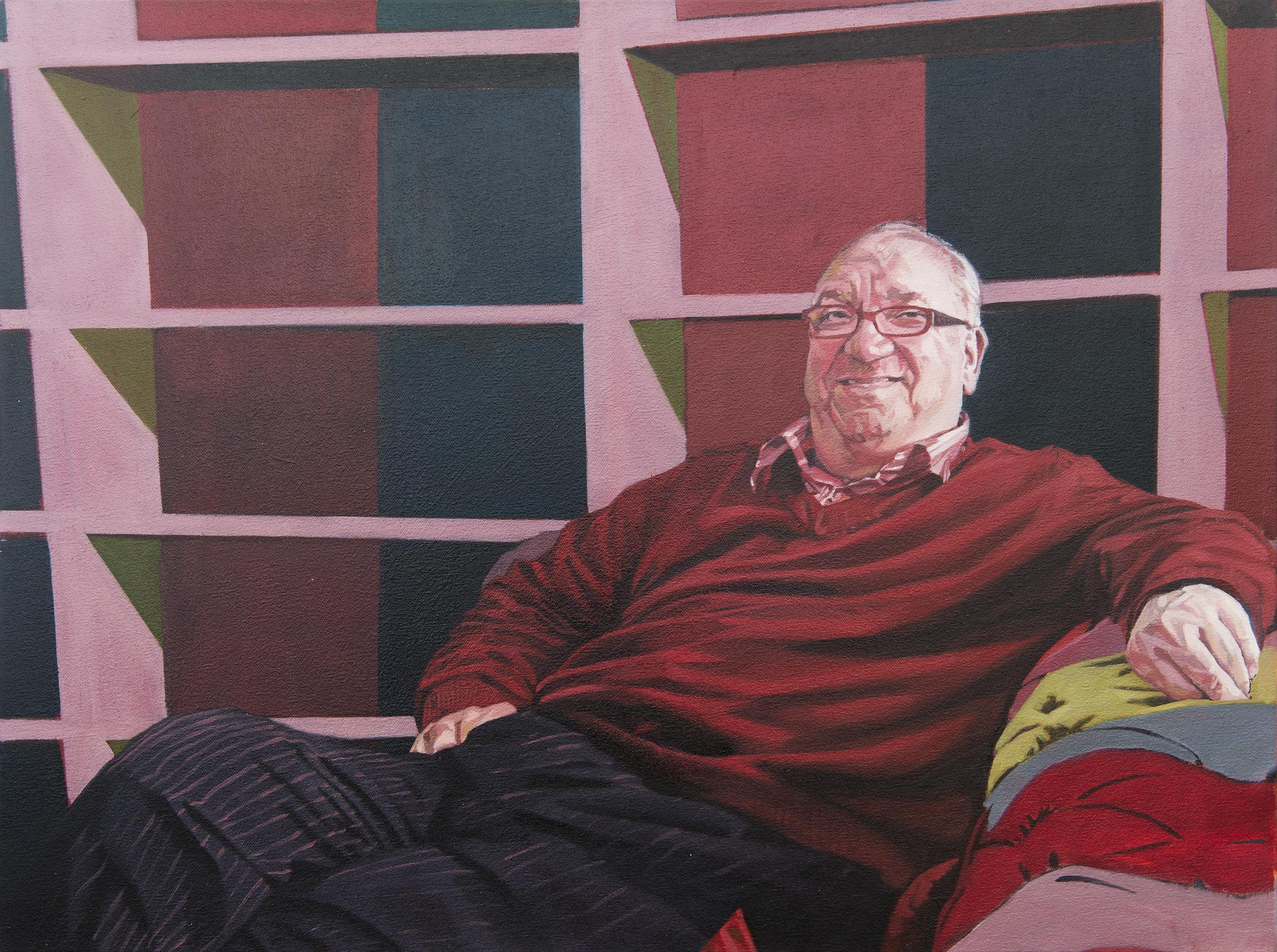 Derek, 2013, oil on canvas, 18 x 24in.