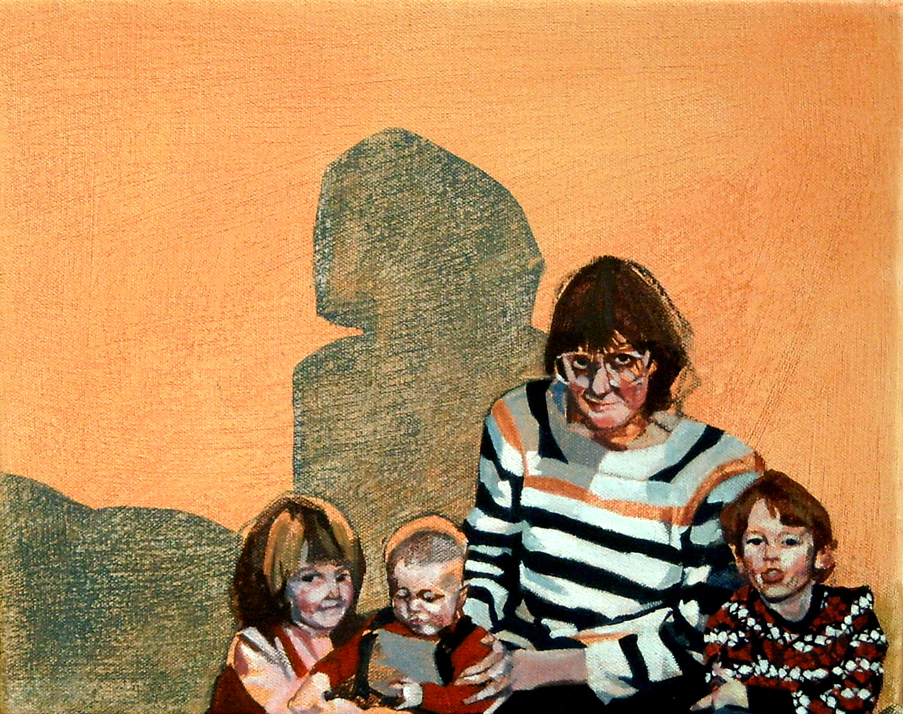 The Au-Pair, 2009, oil on canvas, 10 x 12in.