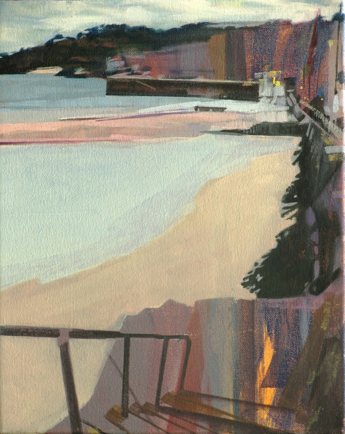 St Ives, 2009, oil on canvas, 12 x 10in.