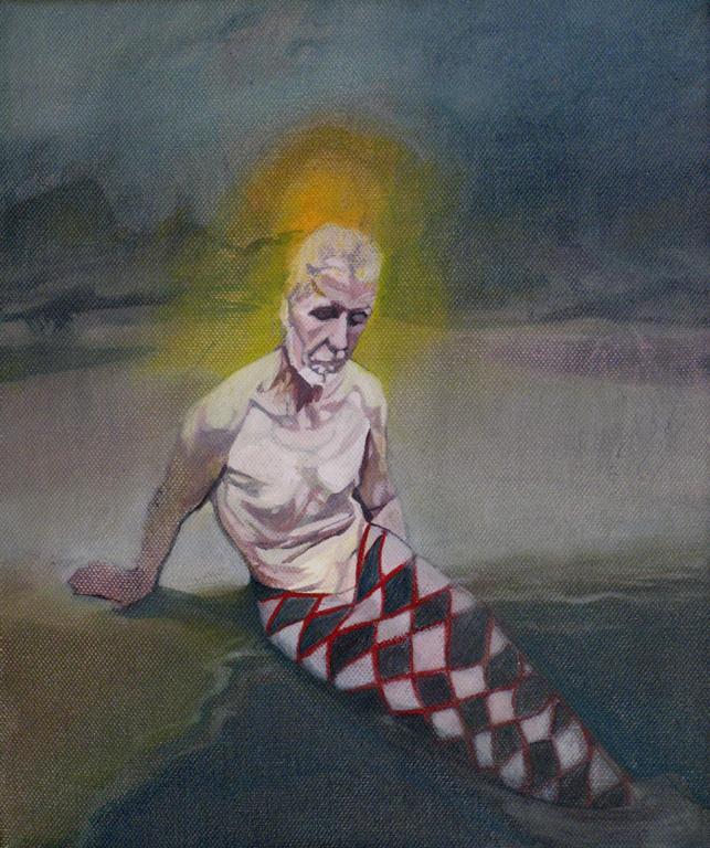 Malvolio, 2012, oil on canvas, 12 x 10in.