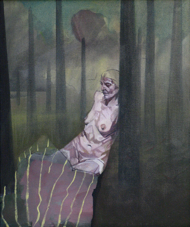 Katherina, 2012, oil on canvas, 12 x 10in.