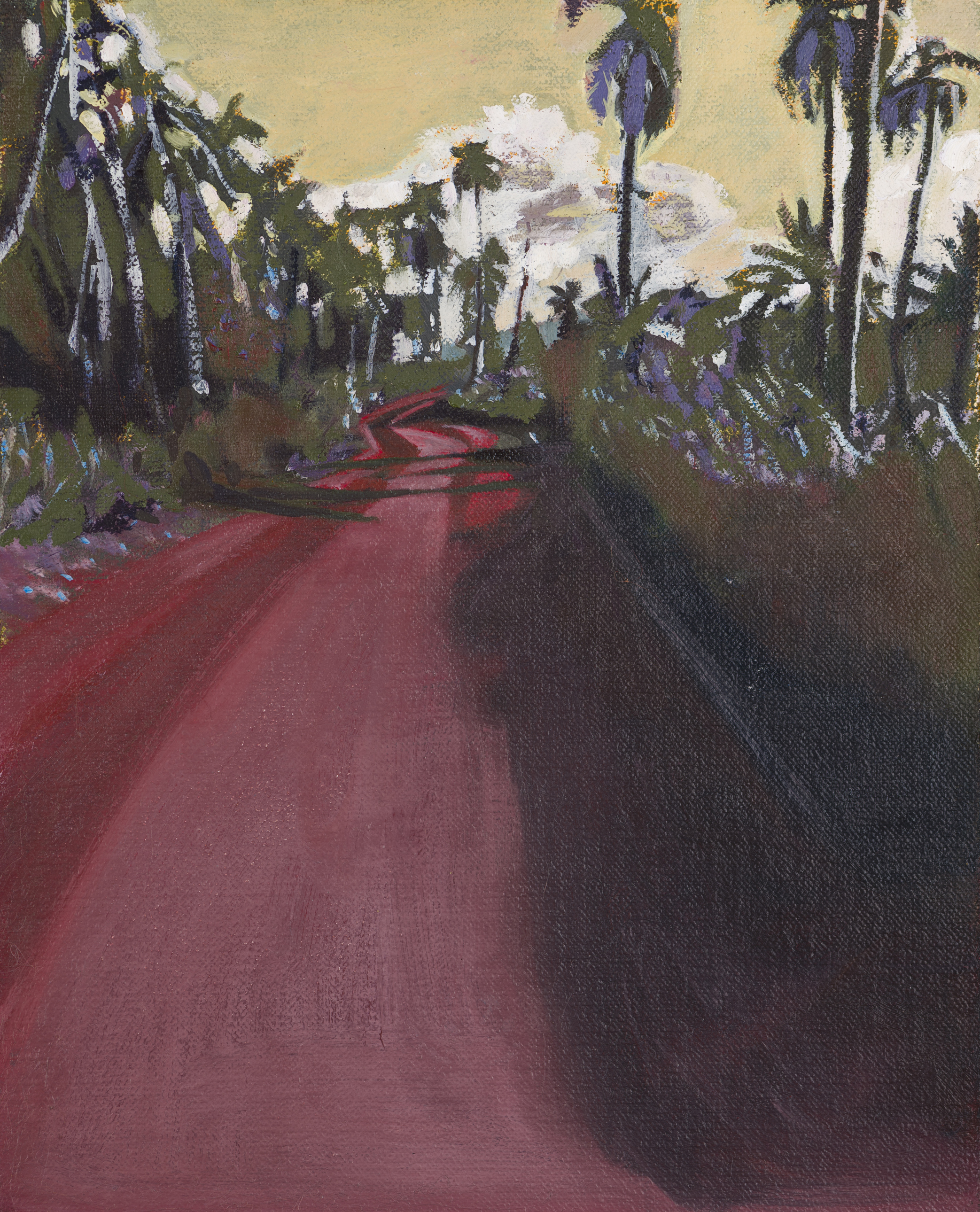 Boca de Miel, Cuba, 2015, oil on linen on board, 10 x 8in