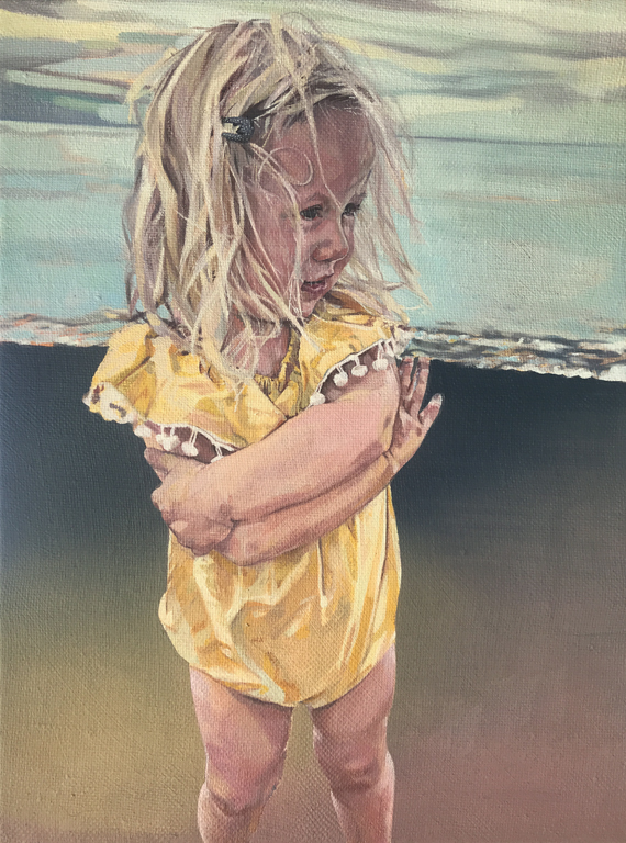 Sylvie, 2018-19, oil on linen, 16 x 12in.