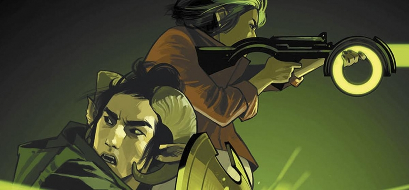 Saga Volume 7 cover art by Fiona Staples