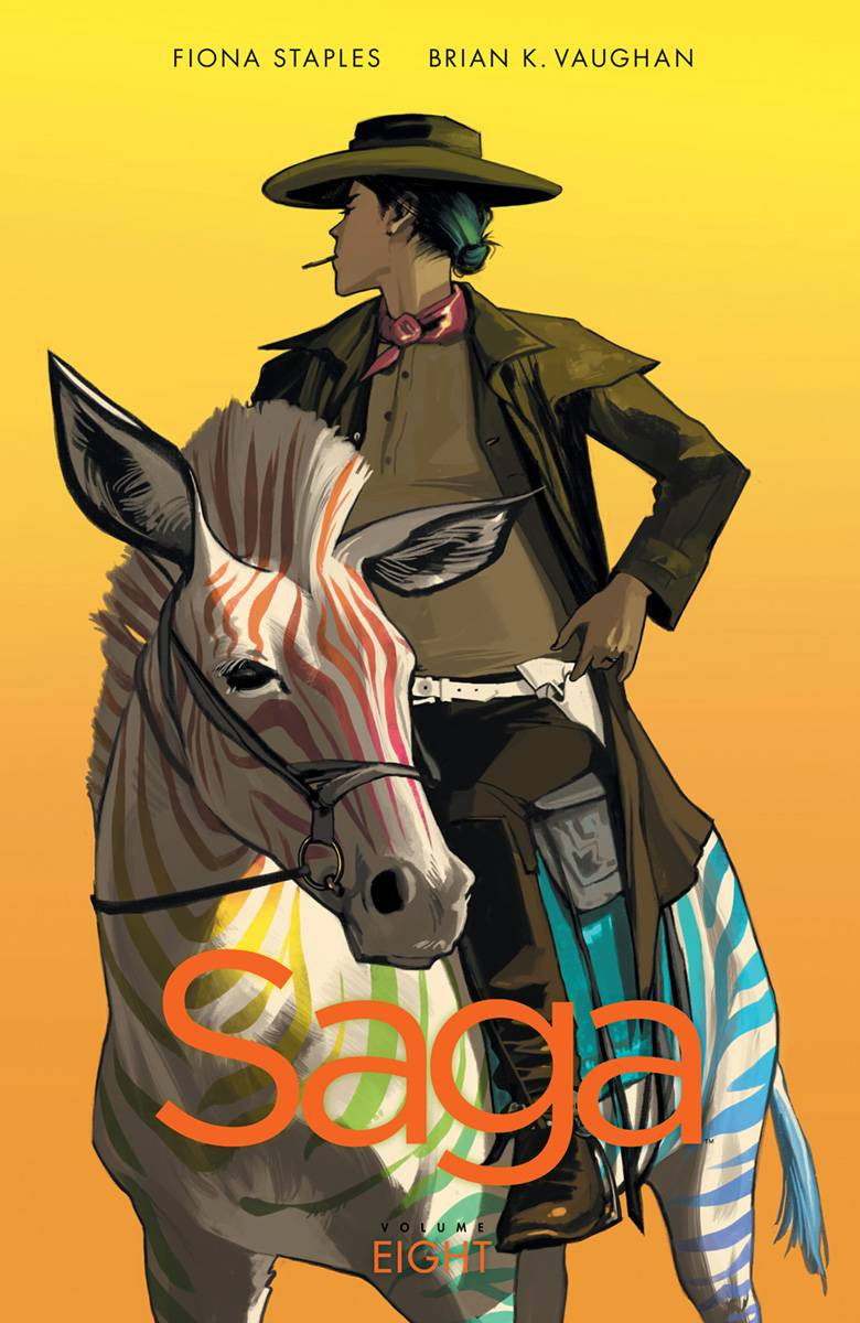 Saga Volume 8 Cover by Fiona Staples