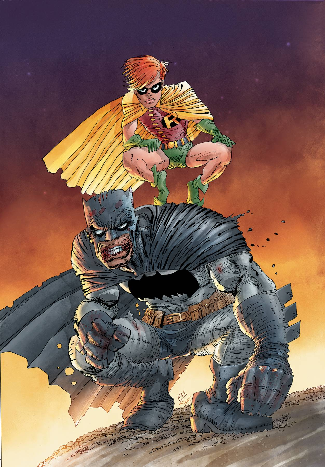G. Detective Comics #1000 1980s Variant by Frank Miller -