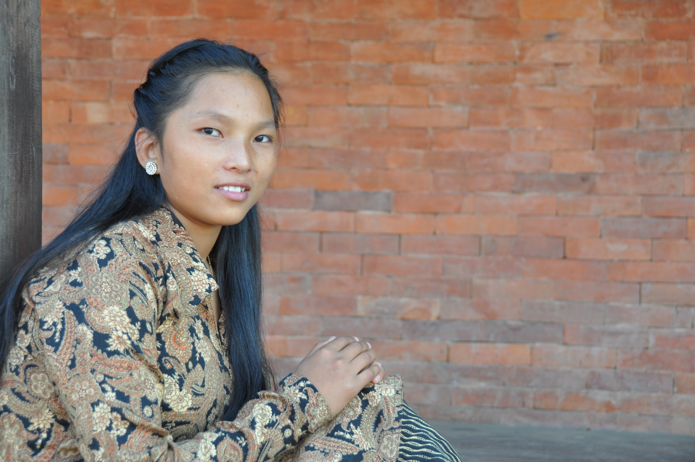Tabitha    Tabitha's mother died when she was 18 months old.  Her father eventually remarried, but her stepmother mistreated her.  Her father wanted to send Tabitha to live in a monastery where she would become a Buddhist nun.  Her aunt attends David's church and asked him if Tabitha could live at the children's home.  She was thirteen when she came to the children's home and was behind her age group in school.  She has been working hard to get caught up.