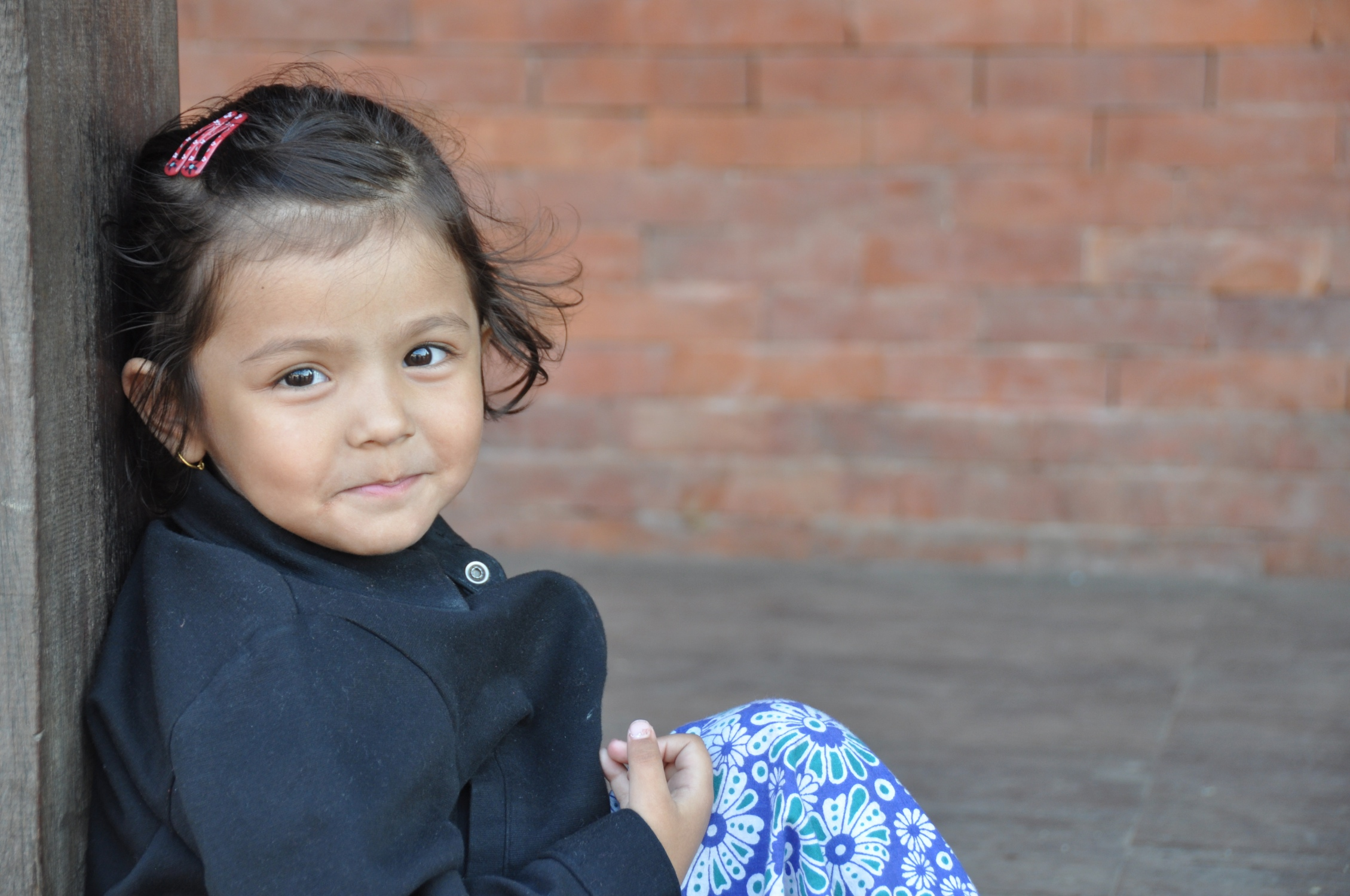 Shristi    Shristi's mother wanted to abort her before she was born. Family and friends intervened and kept her from doing that. When the baby was born, she made it clear that she didn't want her and even threatened to take her life. The family contacted David and Sony who took her right away. Shristi is now thriving under their loving care. Another precious little one saved.