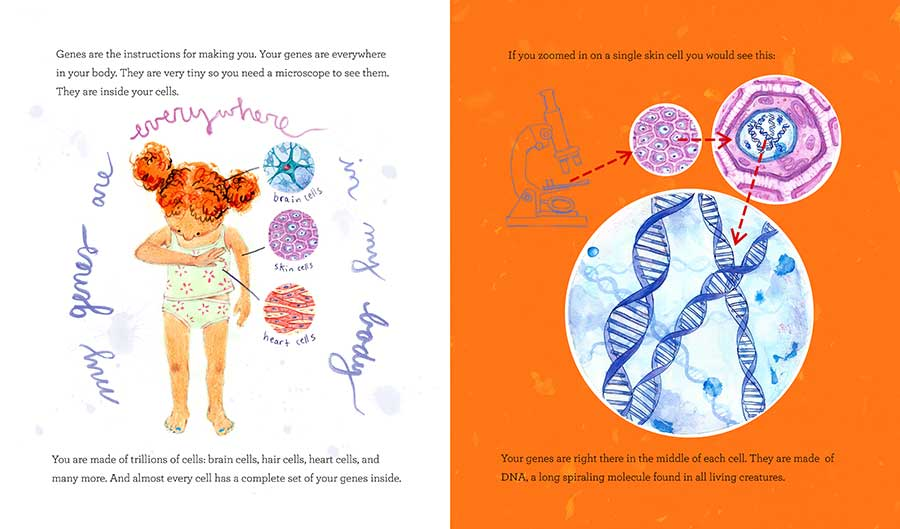 The One and Only Me: A Book About Genes