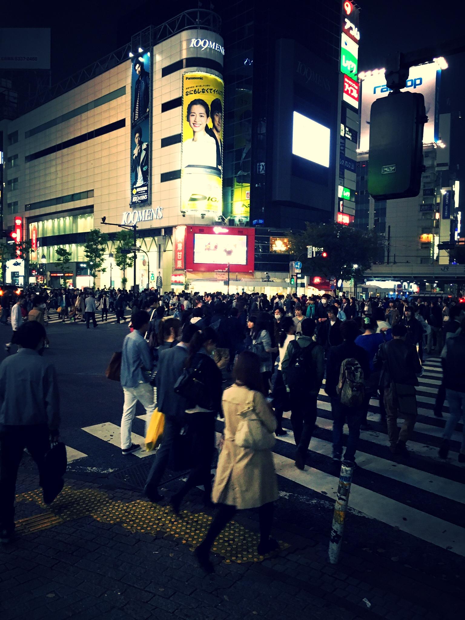 23 Uhr in Shibuya