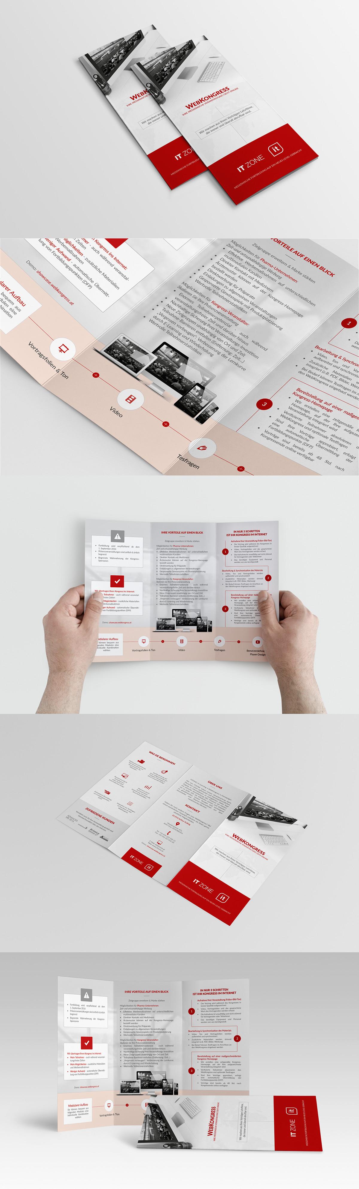 Konzeption • Gestaltung • Text  Tri-Fold-Flyer / Faltblatt